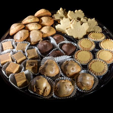 Plateau 16 muffins mélangés