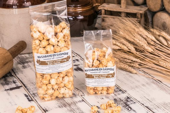 Caramelized Maple Popcorn 190g - 75g