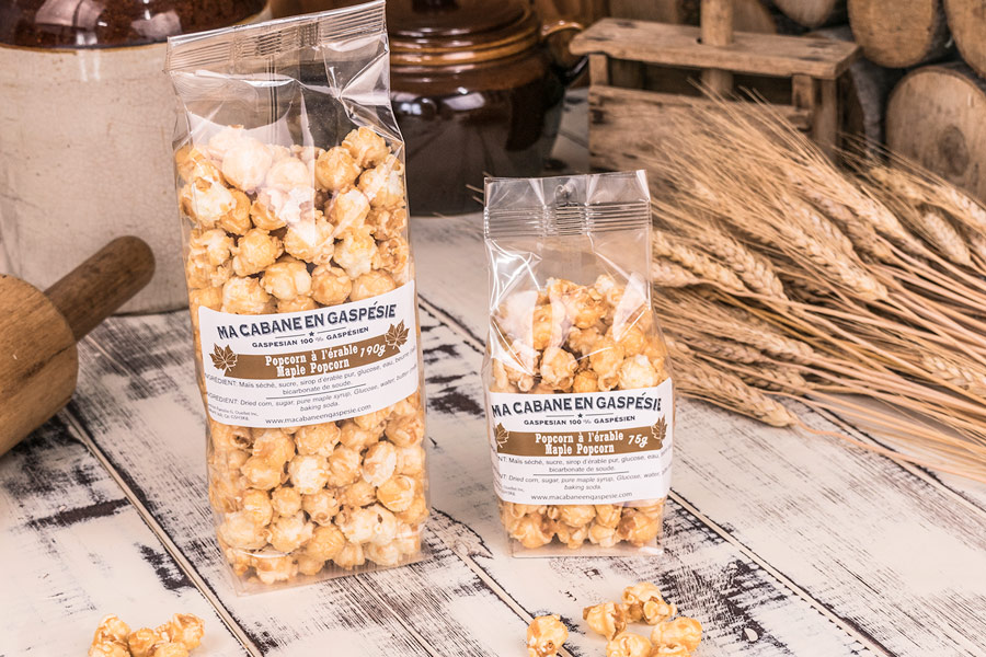 Caramelized Maple Popcorn