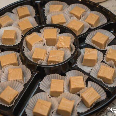 Plateau sucre à la crème