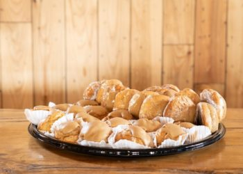 Cookie and Cream Puff Platter