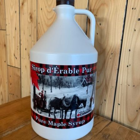 4 Litre amber syrup