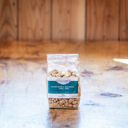 Maple roasted peanuts