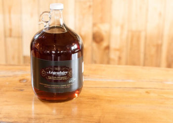 THE LEGENDARY MAPLE SYRUP