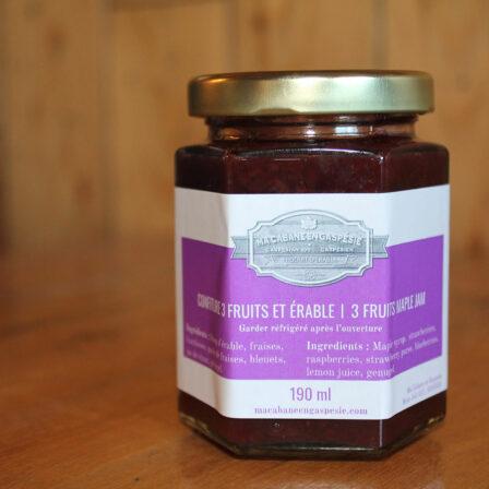 3-Fruit Maple Jam