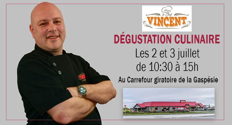 Séance de dégustation culinaire avec Chef Vincent